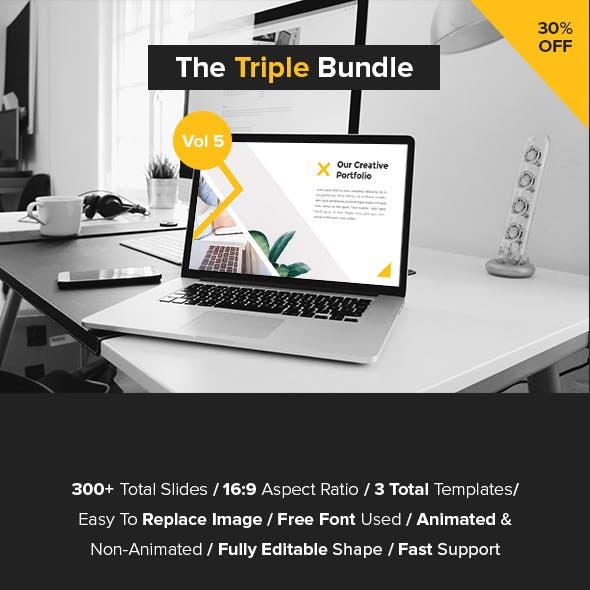 The Triple Bundle PowerPoint Vol 5