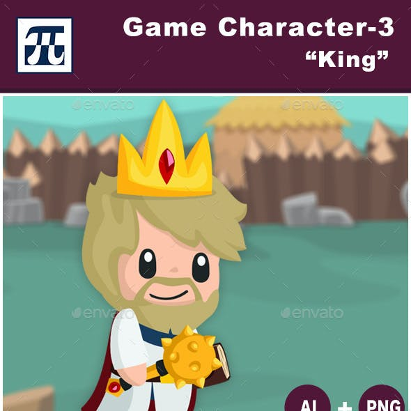 Game Character Set 3 - King