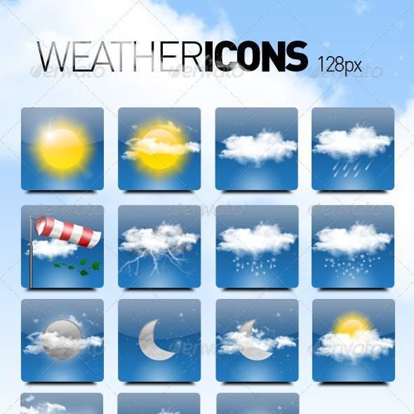 15 Weather Icons