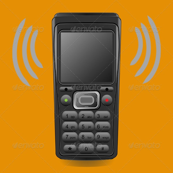 Mobile Phone - Man-made Objects Objects