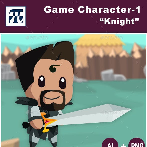 Game Character Set 1 - Knight