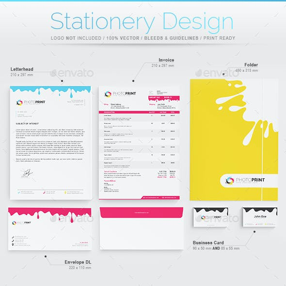 Stationery Design - Print Industry