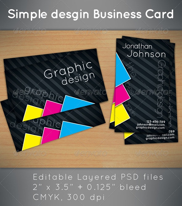 Business Card for Print Company - Corporate Business Cards