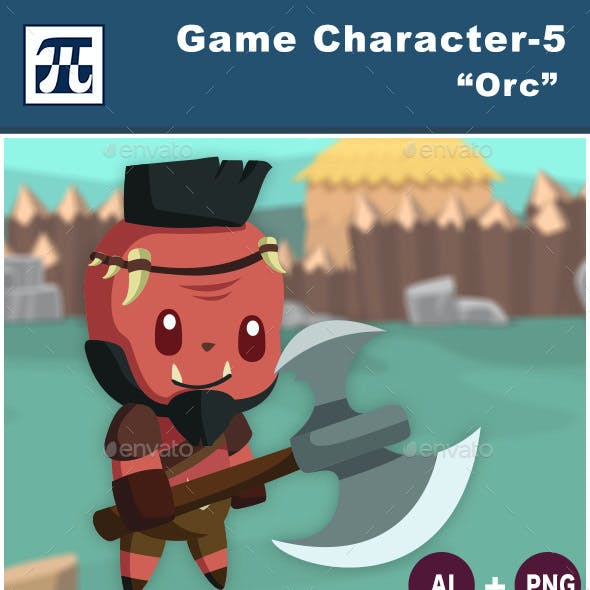 Game Character Set 5 - Orc