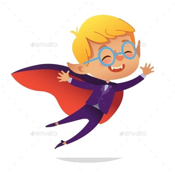 Dracula Boy - People Characters