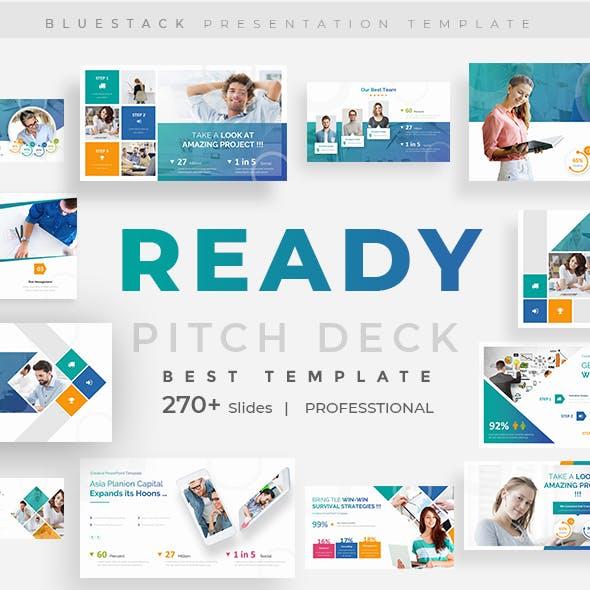 Ready Premium Pitch Deck Google Slide Template