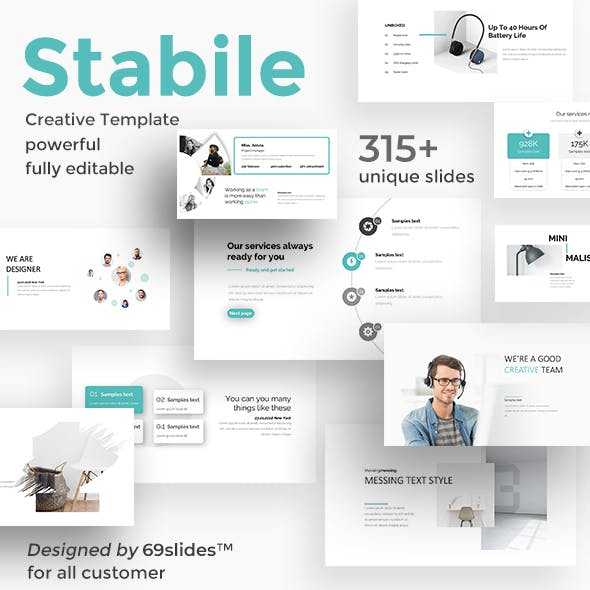 Stabile Creative Powerpoint Template