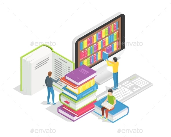 Book Reading Concept - Web Technology