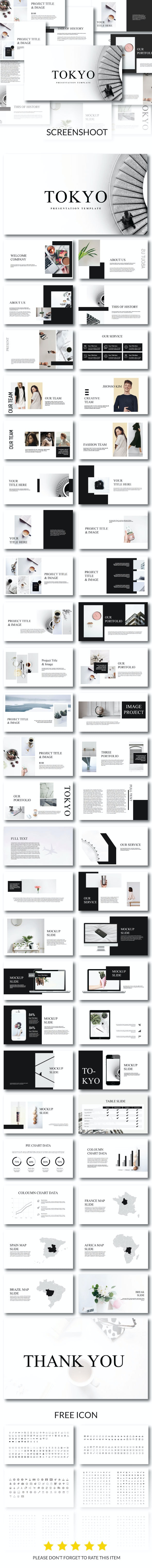 Tokyo - Powerpoint Template - PowerPoint Templates Presentation Templates