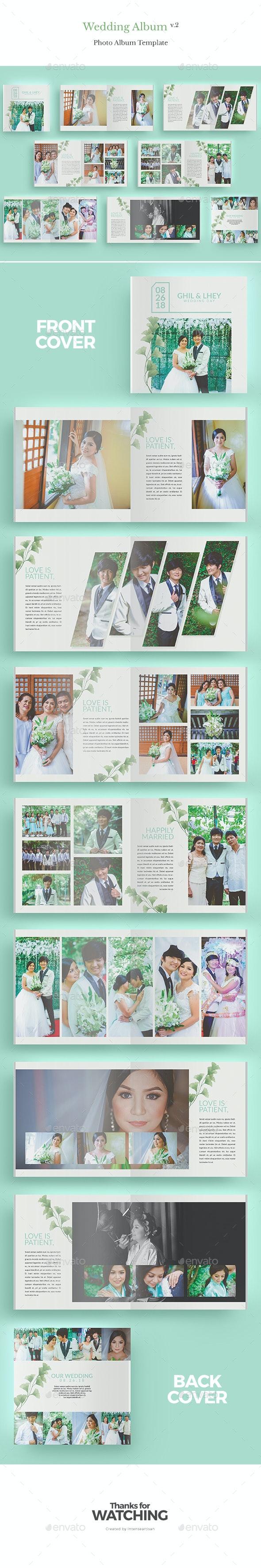 Wedding Album V.2 - Photo Albums Print Templates