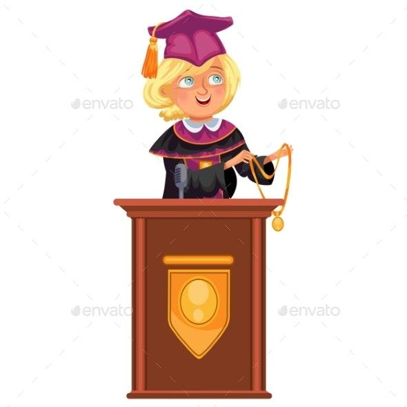 College Graduation - Miscellaneous Vectors