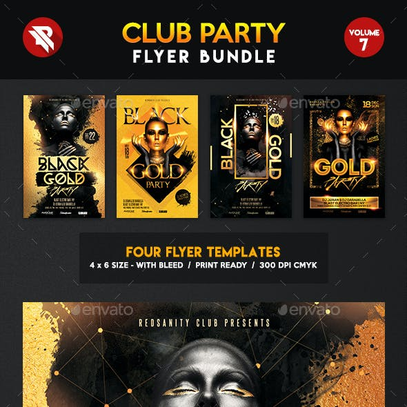 Club Flyer Bundle Vol.7