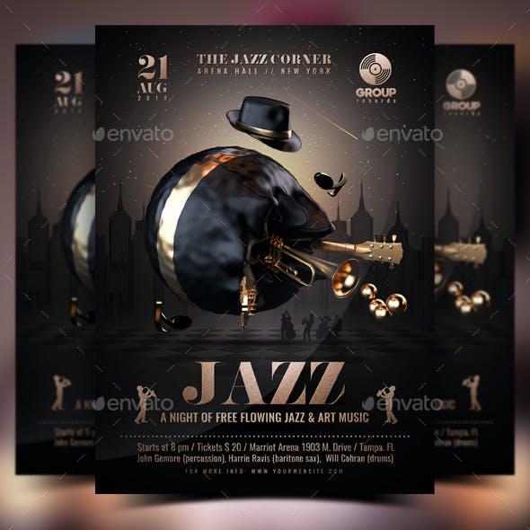 Jazz Flyer Template