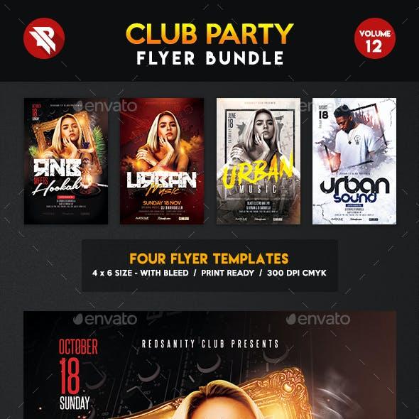 Club Flyer Bundle Vol.12
