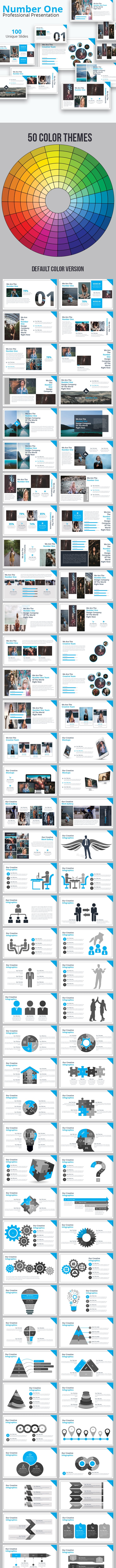 Number One Powerpoint Presentation Template - Business PowerPoint Templates