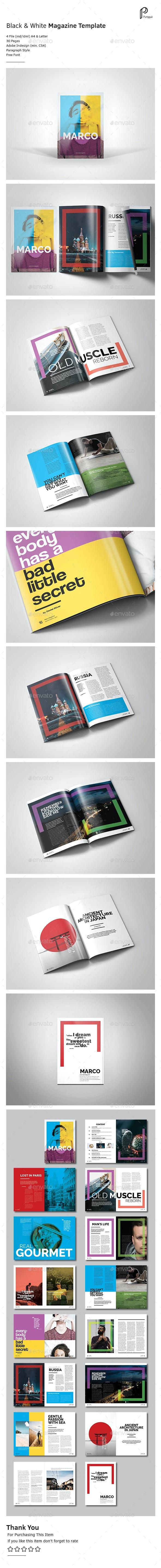Catchy Magazine Vol.6 - Magazines Print Templates