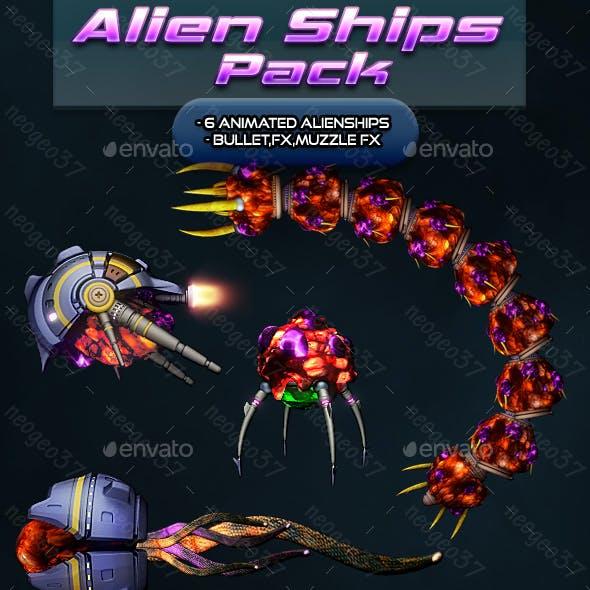 Alien Ship Pack