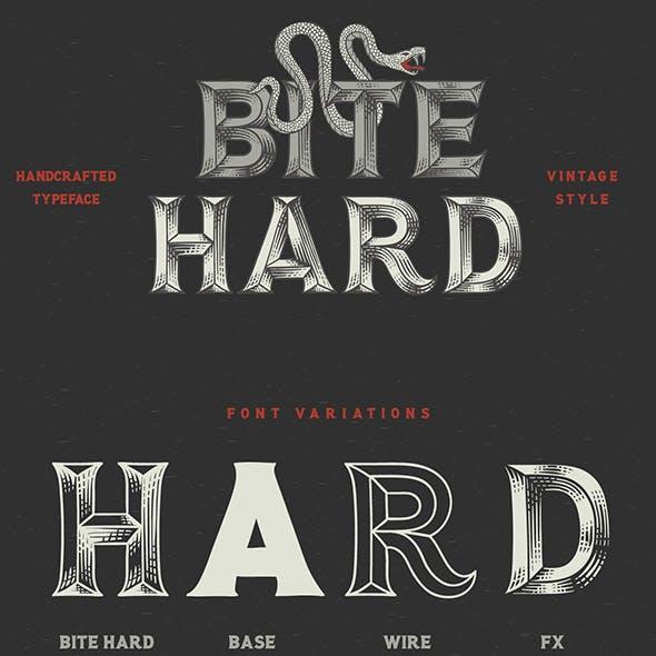 Bite Hard font