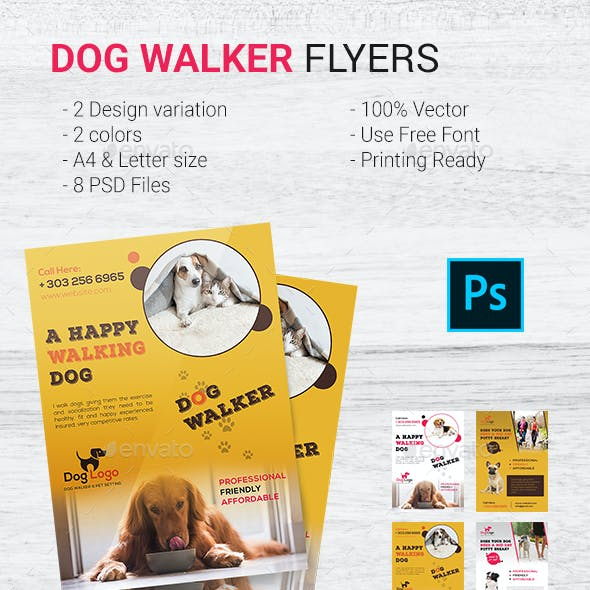 Dog Stationery and Design Templates from GraphicRiver