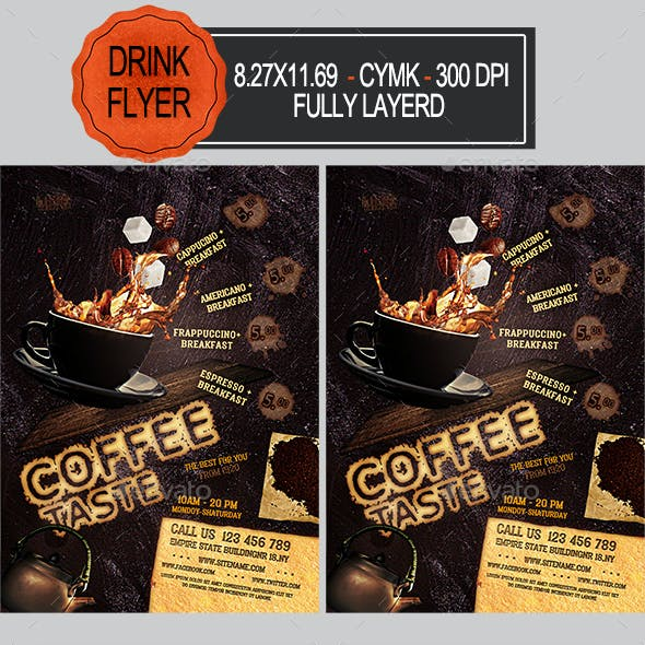 Coffee Flyer