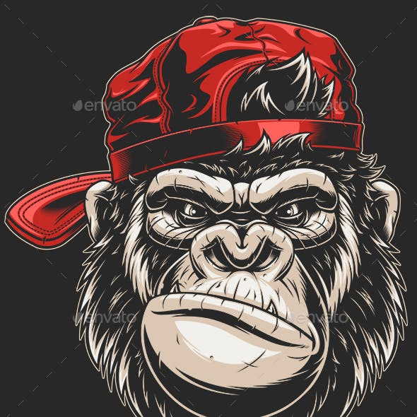 Monkey's Head in a Baseball Cap