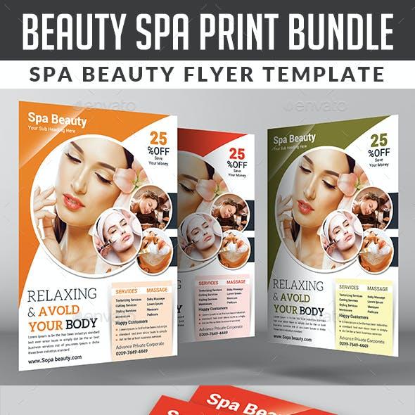 Spa & Beauty Saloon Bundle Template