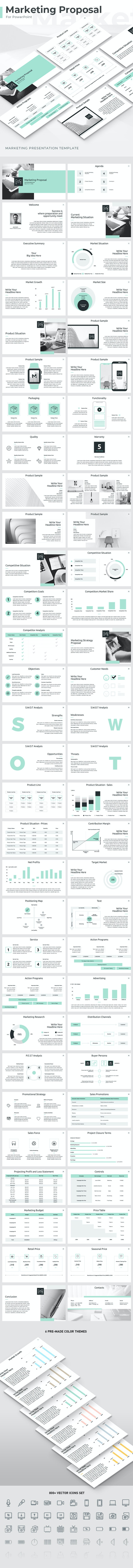 Marketing Proposal PowerPoint Template - Business PowerPoint Templates
