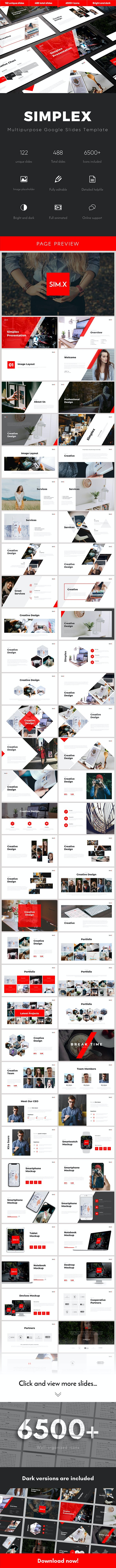 Simplex Multipurpose Google Slides Template