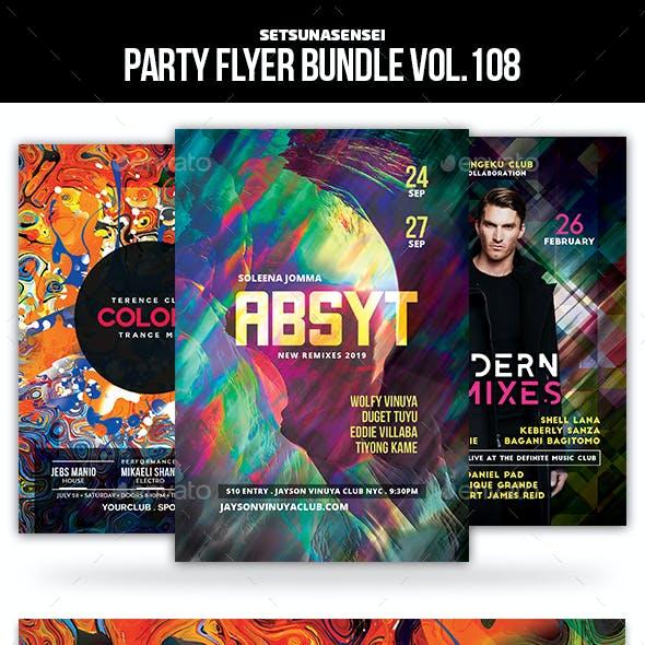 Party Flyer Bundle Vol.108