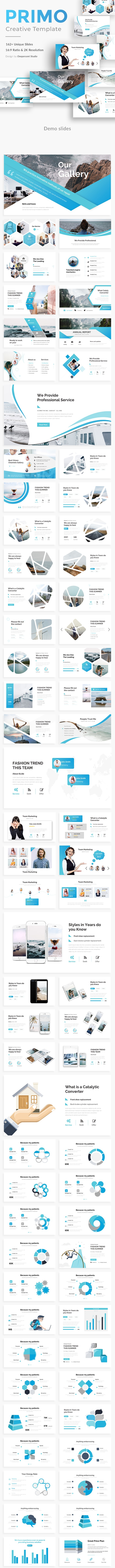 Primo Creative Powerpoint Template - Creative PowerPoint Templates