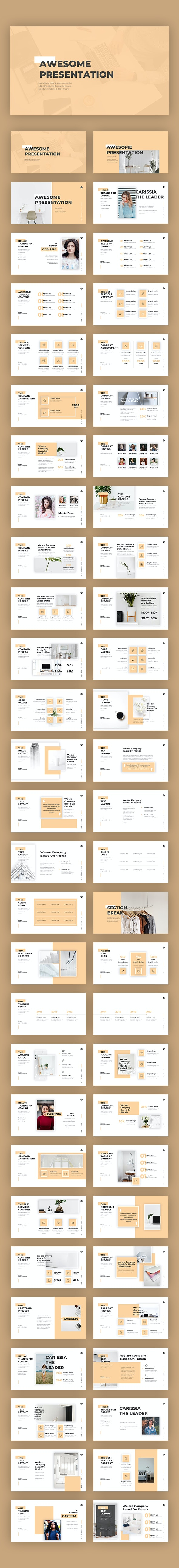 Awesome Pitch Deck Templates - PowerPoint Templates Presentation Templates