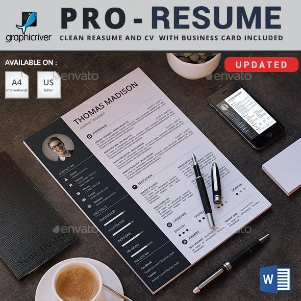 Resume 3 IN 1
