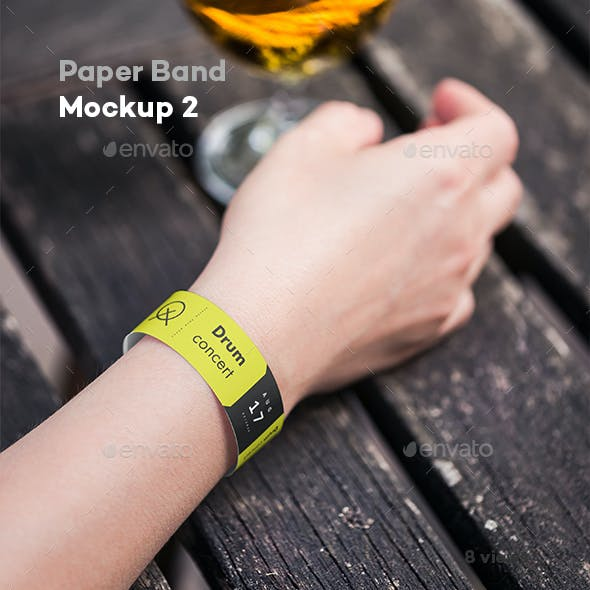Paper Band Mock-up 2