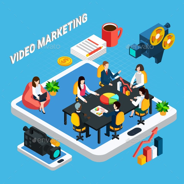 Video Business Meeting Composition - Industries Business