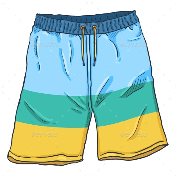 Beach Shorts - Man-made Objects Objects