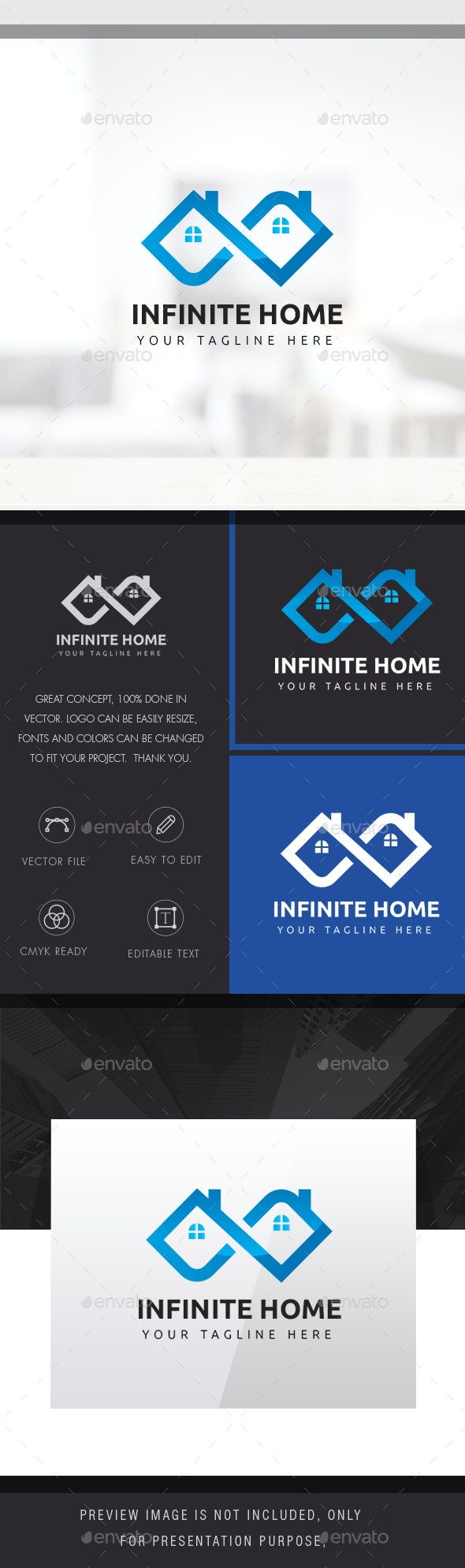 Infinite Home - Buildings Logo Templates