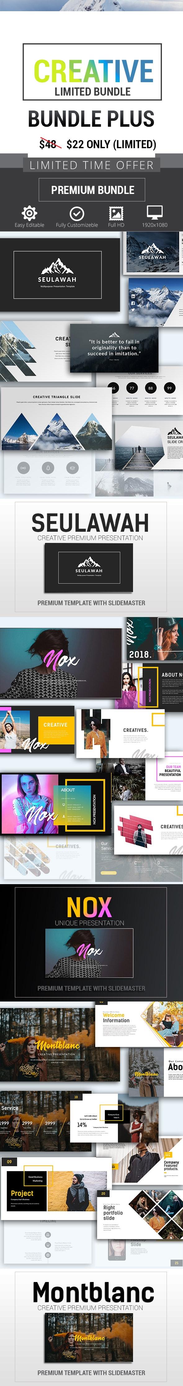 Creative Bundle Plus - PowerPoint Templates Presentation Templates