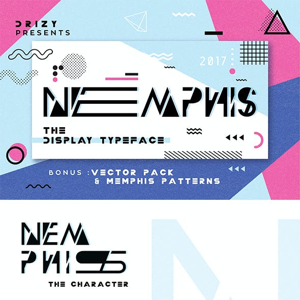 Nemphis the Display Typeface