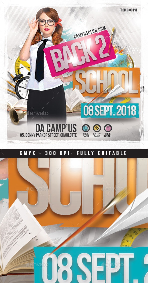 Back 2 School - Clubs & Parties Events