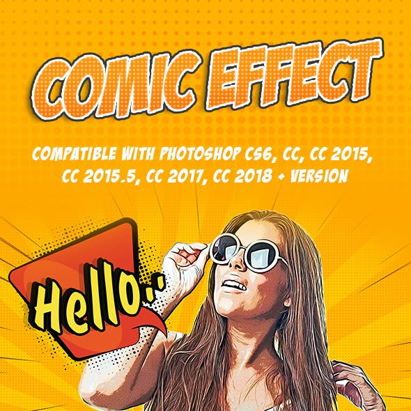 Comic Effect - Photoshop Action