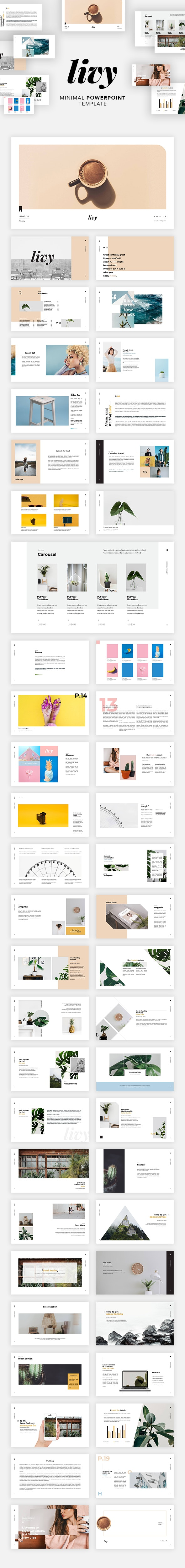 Livy Powerpoint - Creative PowerPoint Templates