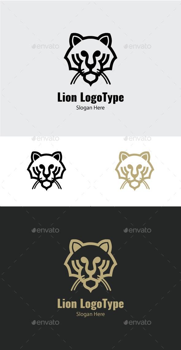 Lion logo Template #25 - Animals Logo Templates