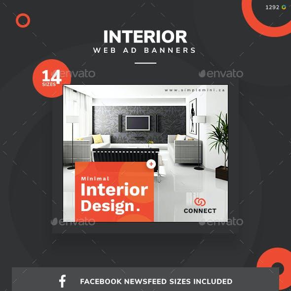 Interior Web Banner Set