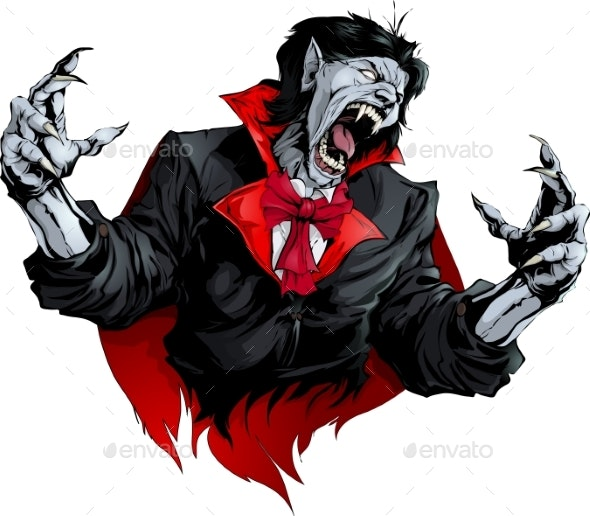 Evil Vampire Picture - Monsters Characters