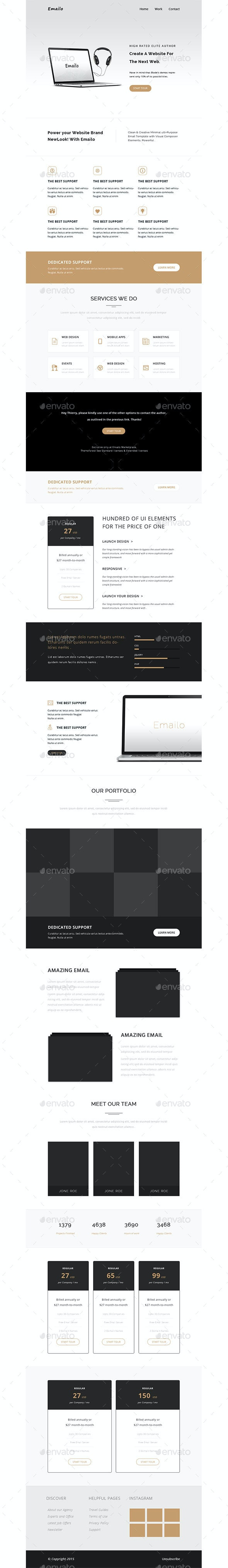 Email Newsletter - E-newsletters Web Elements