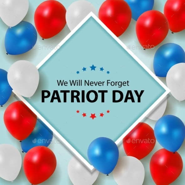Patriot Day Background - Backgrounds Decorative