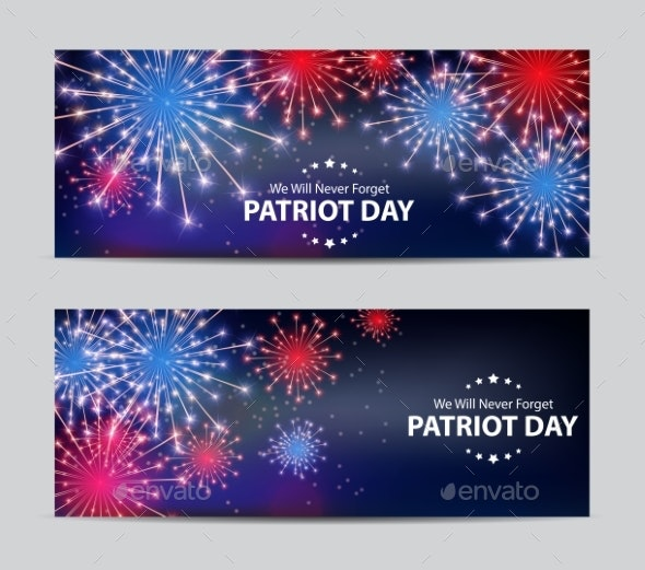 Patriot Day Background - Miscellaneous Seasons/Holidays