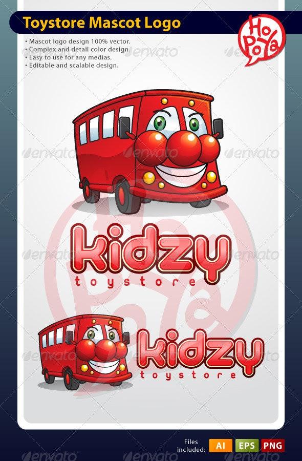 Toystore Mascot Logo - Objects Logo Templates