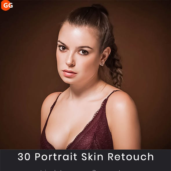 30  Portrait Skin Retouch  Lightroom Presets
