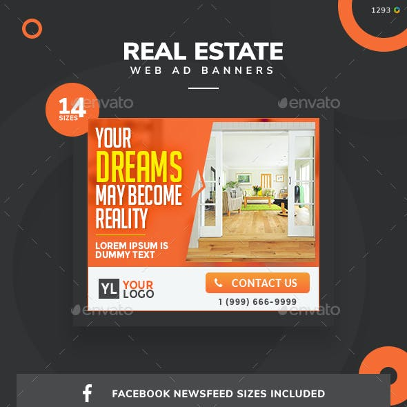 Real Estate Web Banners - Updated!